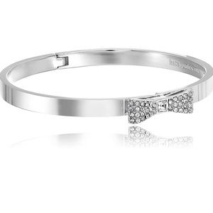 Kate Spade Silver Bow with Crystal Bracelet